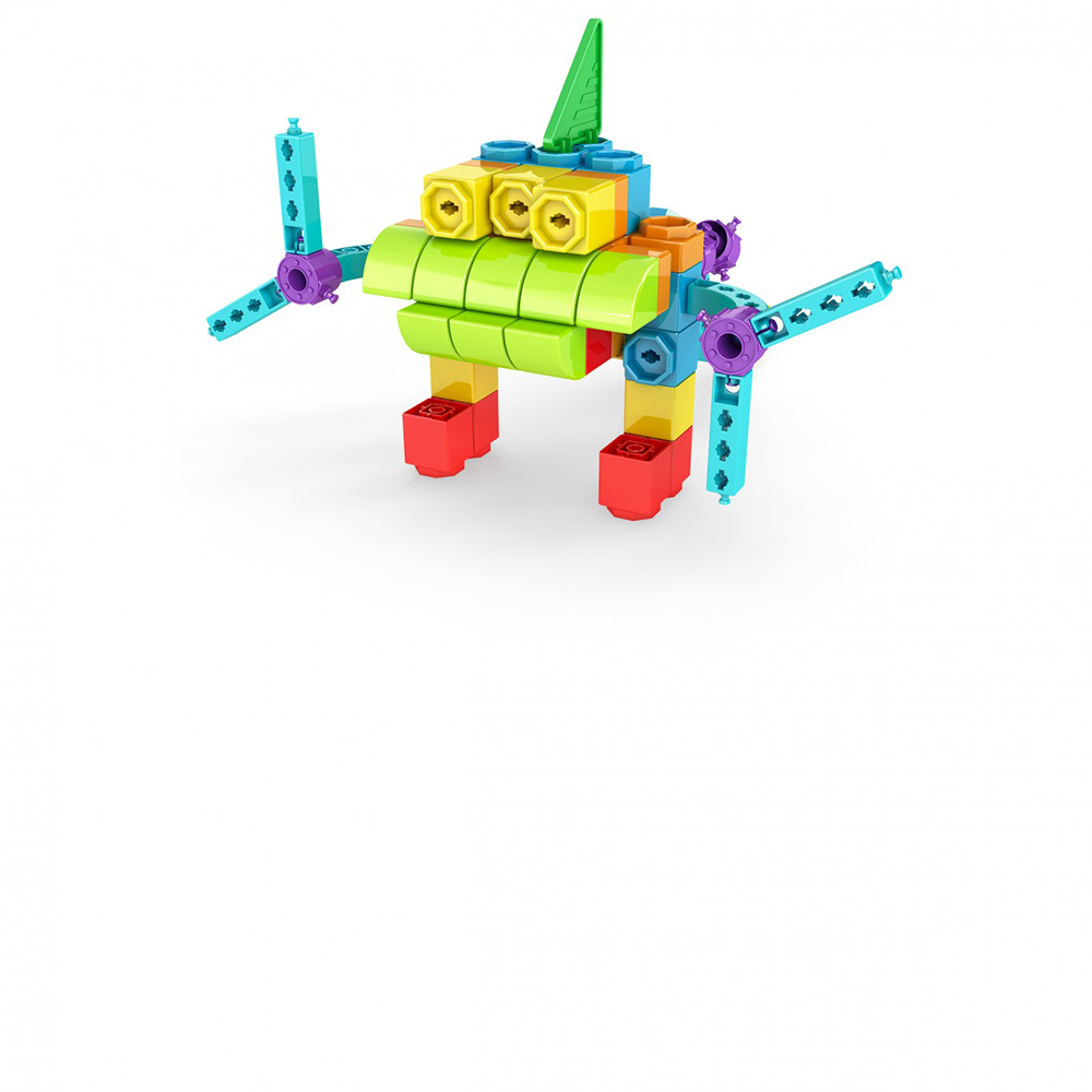 Qboidz 8 in 1 Multimodels Alien Robot 62 pieces