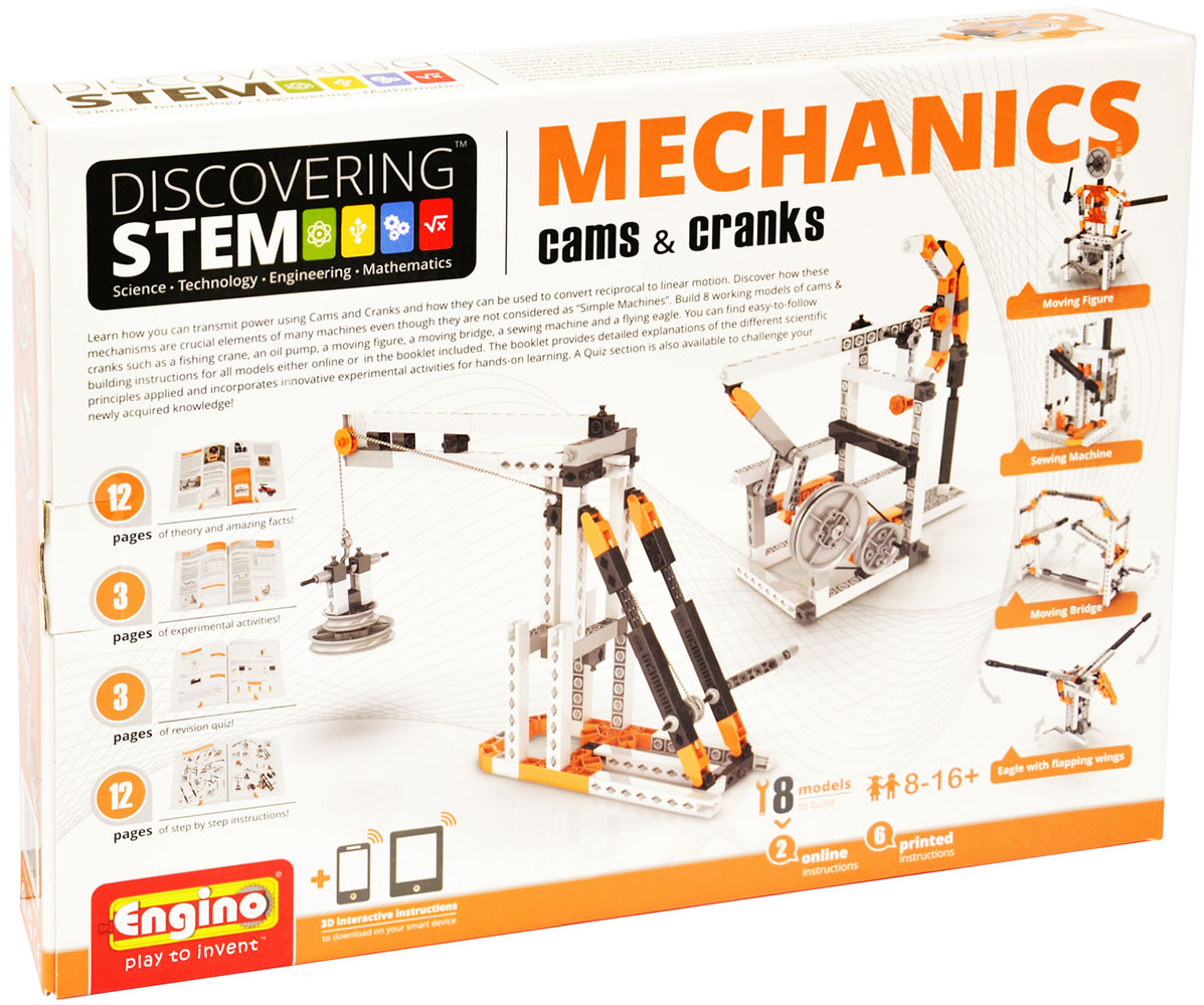 Stem Mechanics Cames & Manivelles