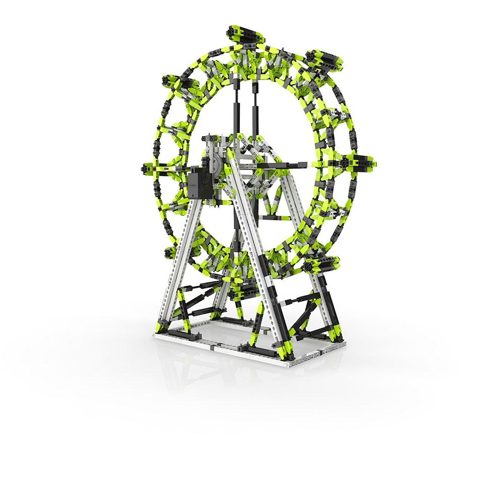 Stem amusement park Ensemble London Eye et Grande roue