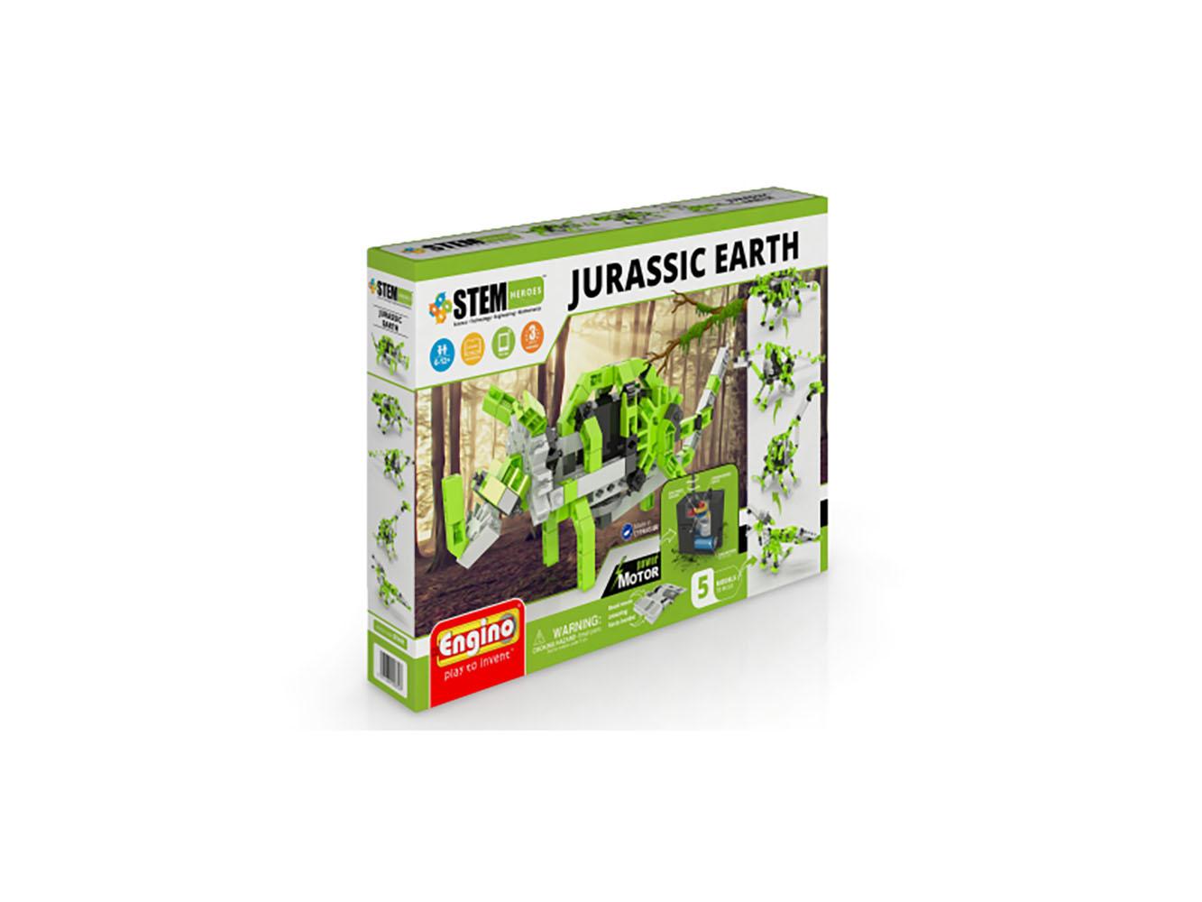 Stem Heroes - Jurassic Earth Motorized Models