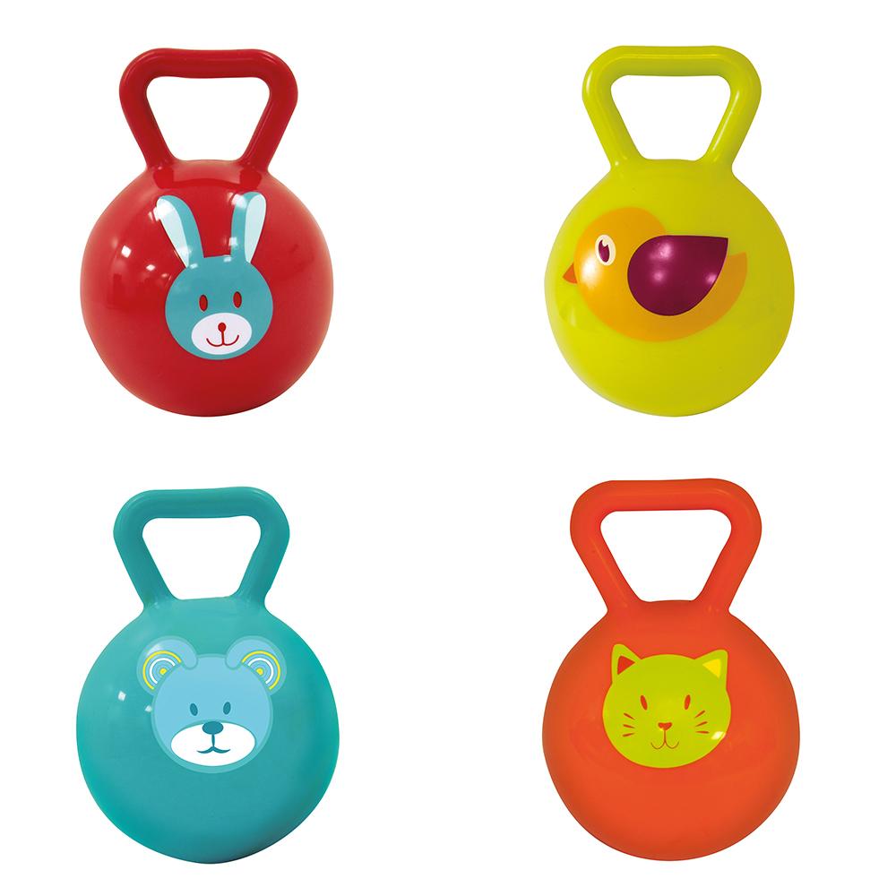 LUDI - Matched balls Rattle assorted