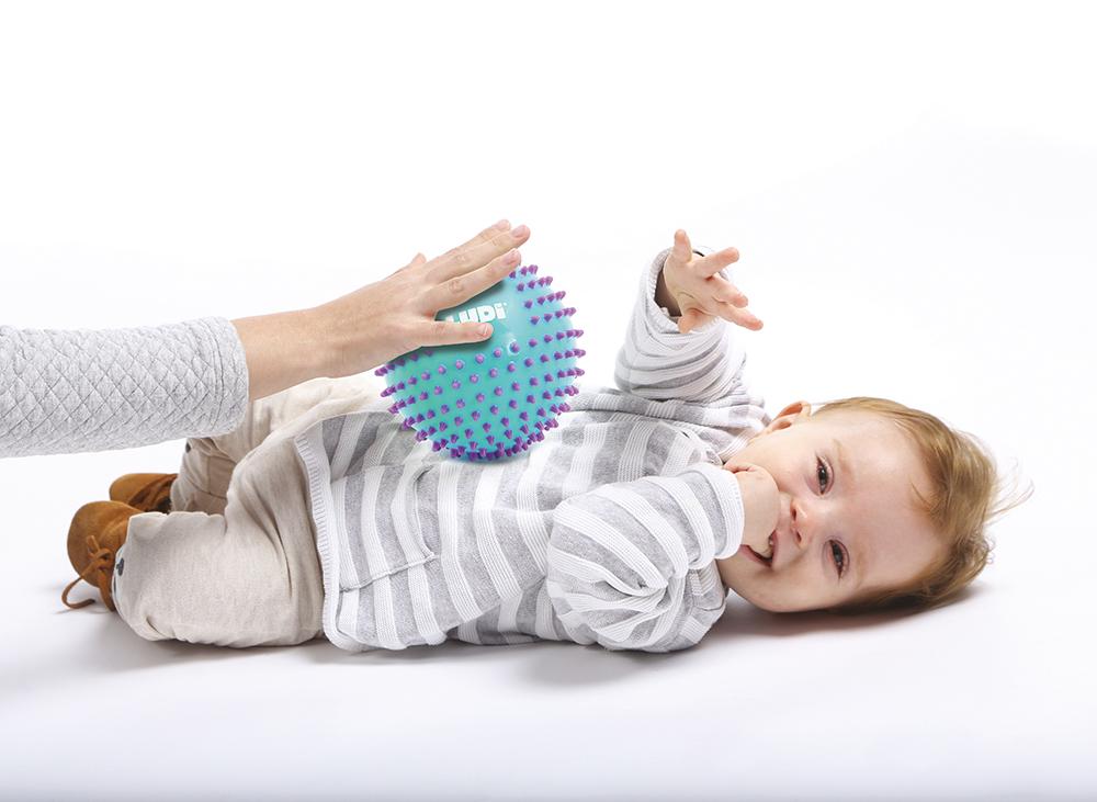 LUDI - Bi-colored Massage Balls assorted