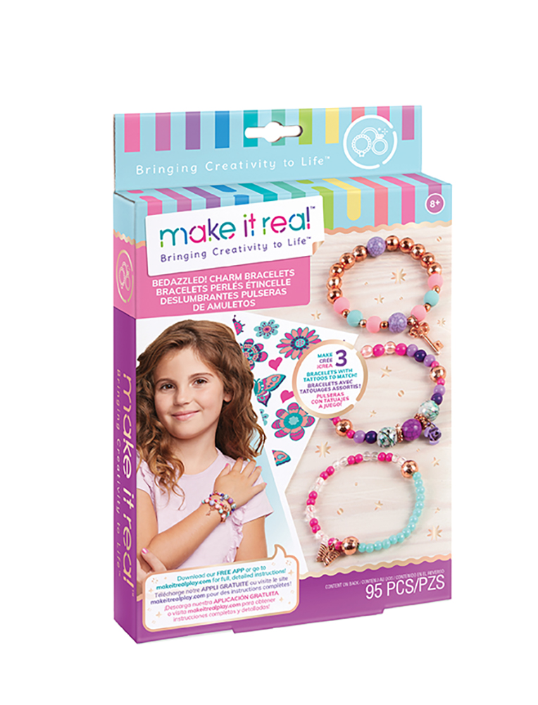Make it real - Bedazzled! Charm Bracelets Blooming