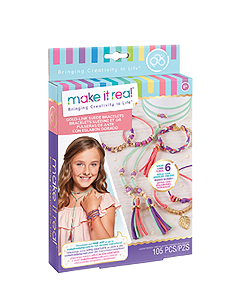 Make it real - Bracelets de faux suède
