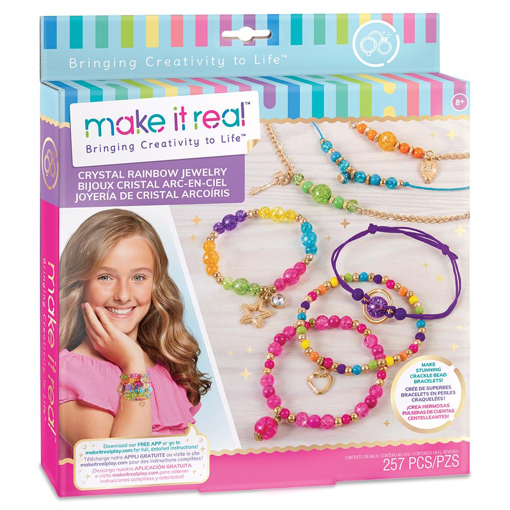 Make it Real- Crystal Rainbow Jewelry