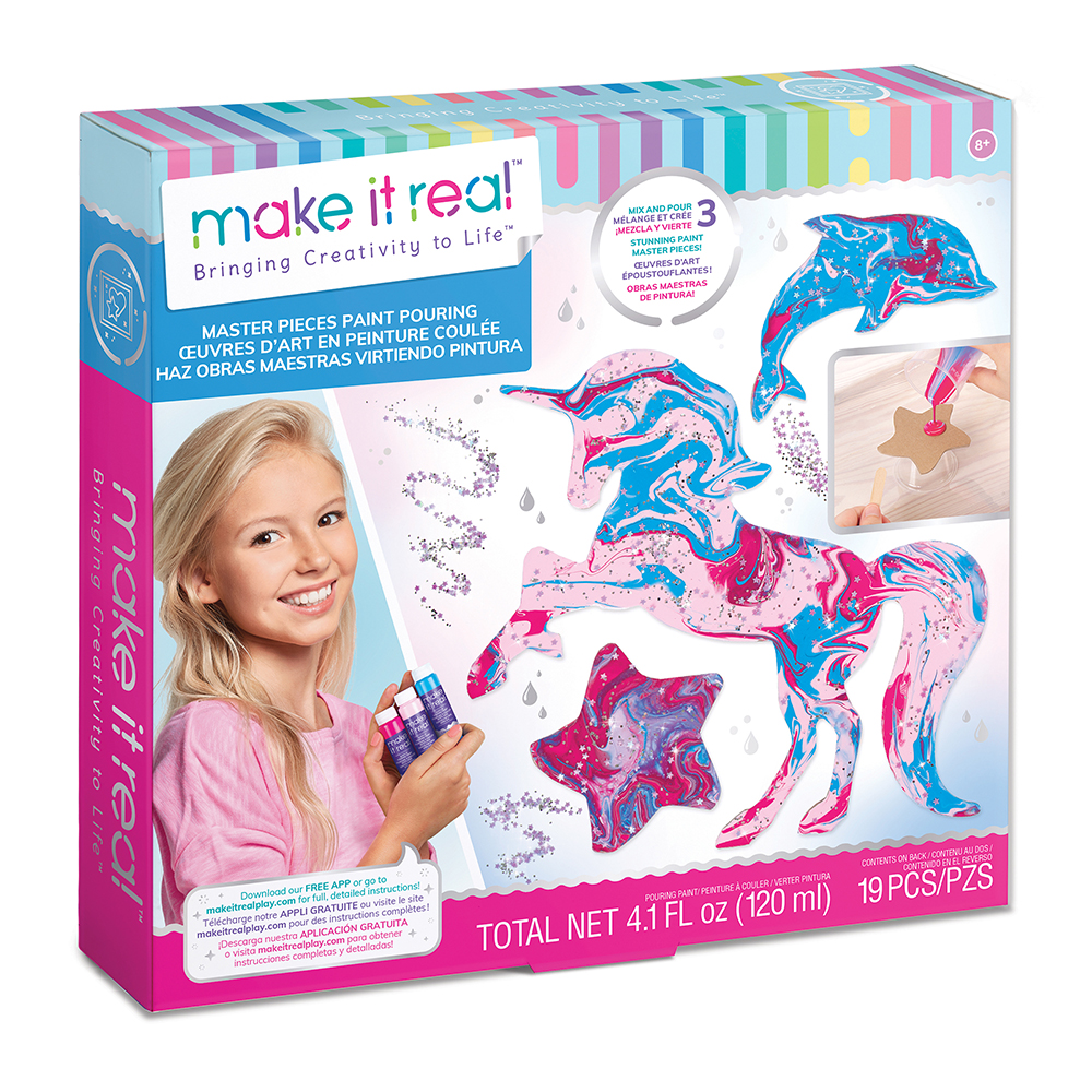 Make it Real- Paint Pouring kit