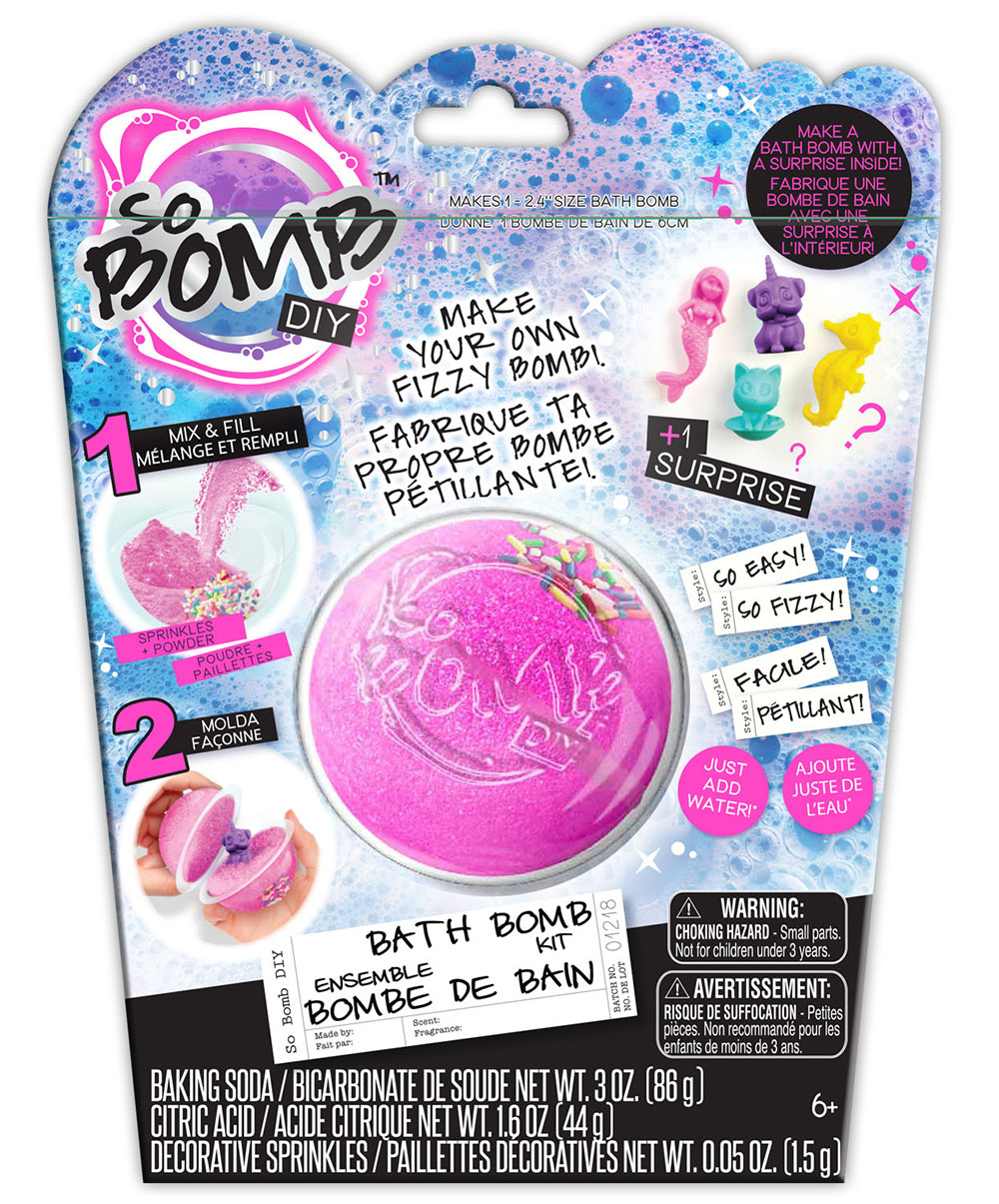 So Bomb DIY Ensemble bombe de bain