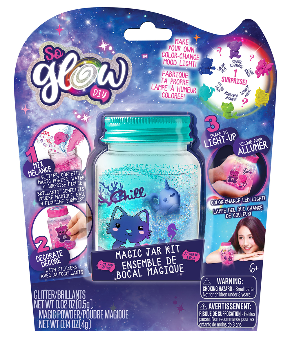 So Glow - Mini Jar Single Blister assorted