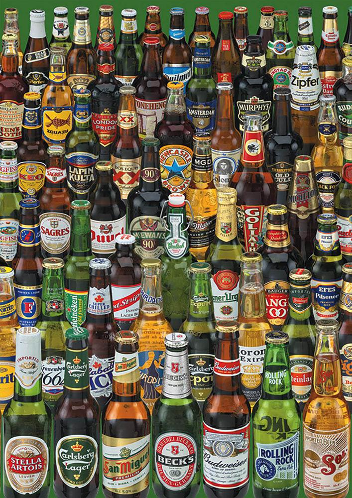 Puzzle 1000 Pieces - Beers
