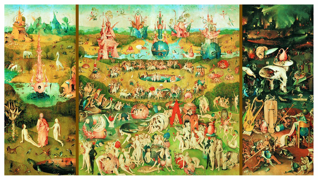 9000 pieces puzzle - The Garden of Earthly Delights