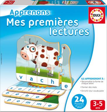 Educa - Apprenons Mes Premières Lectures French version