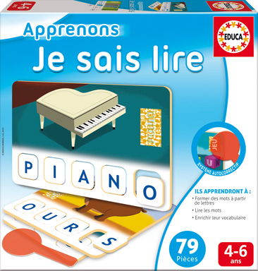 Educa - Apprenons Je sais lire French version