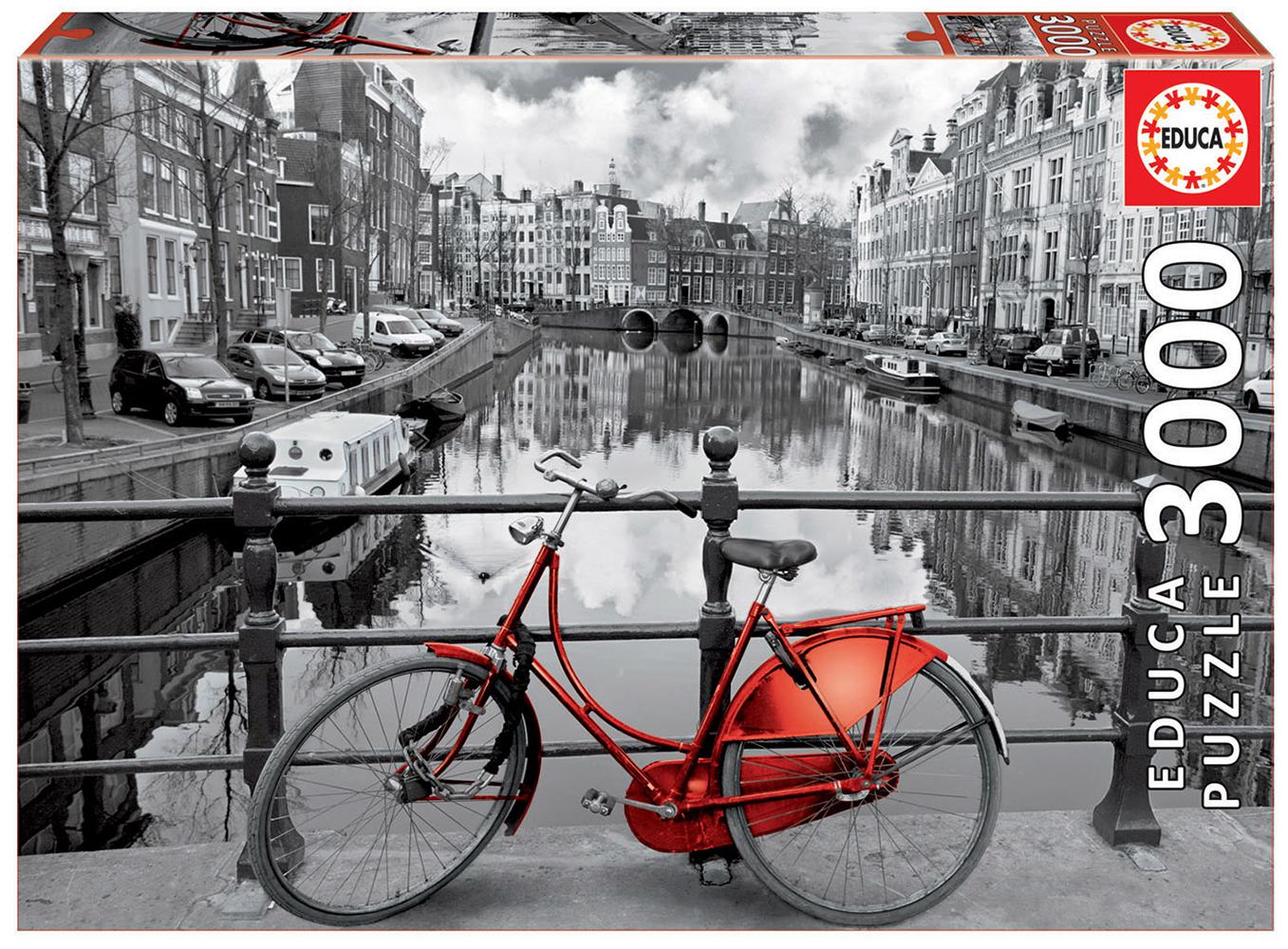 3000 pieces puzzle - Amsterdam