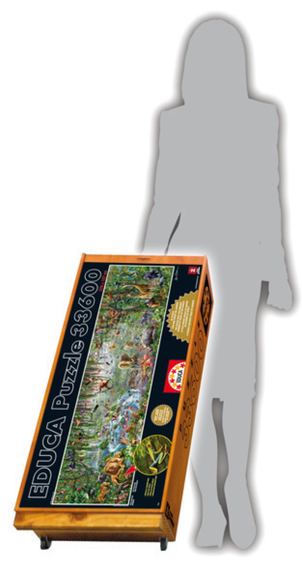 33600 pieces puzzle - Wildlife