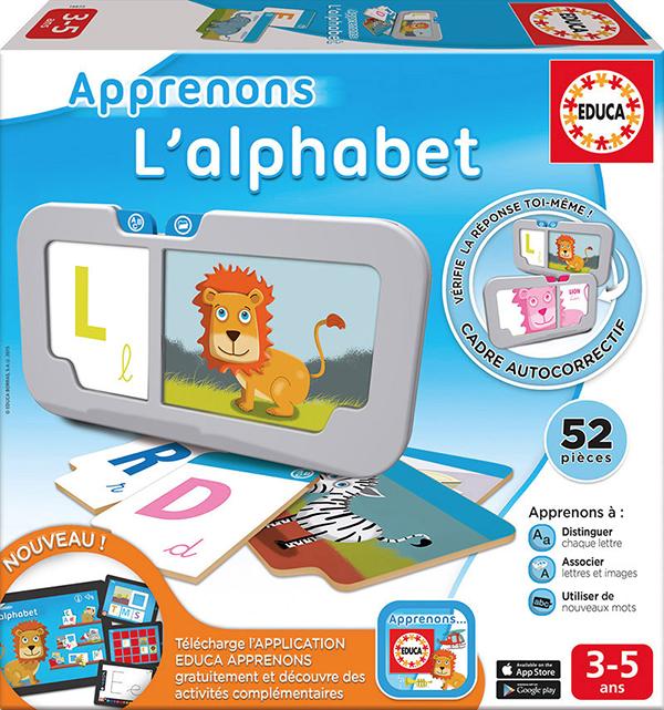 Educa - Apprenons l'alphabet French Version