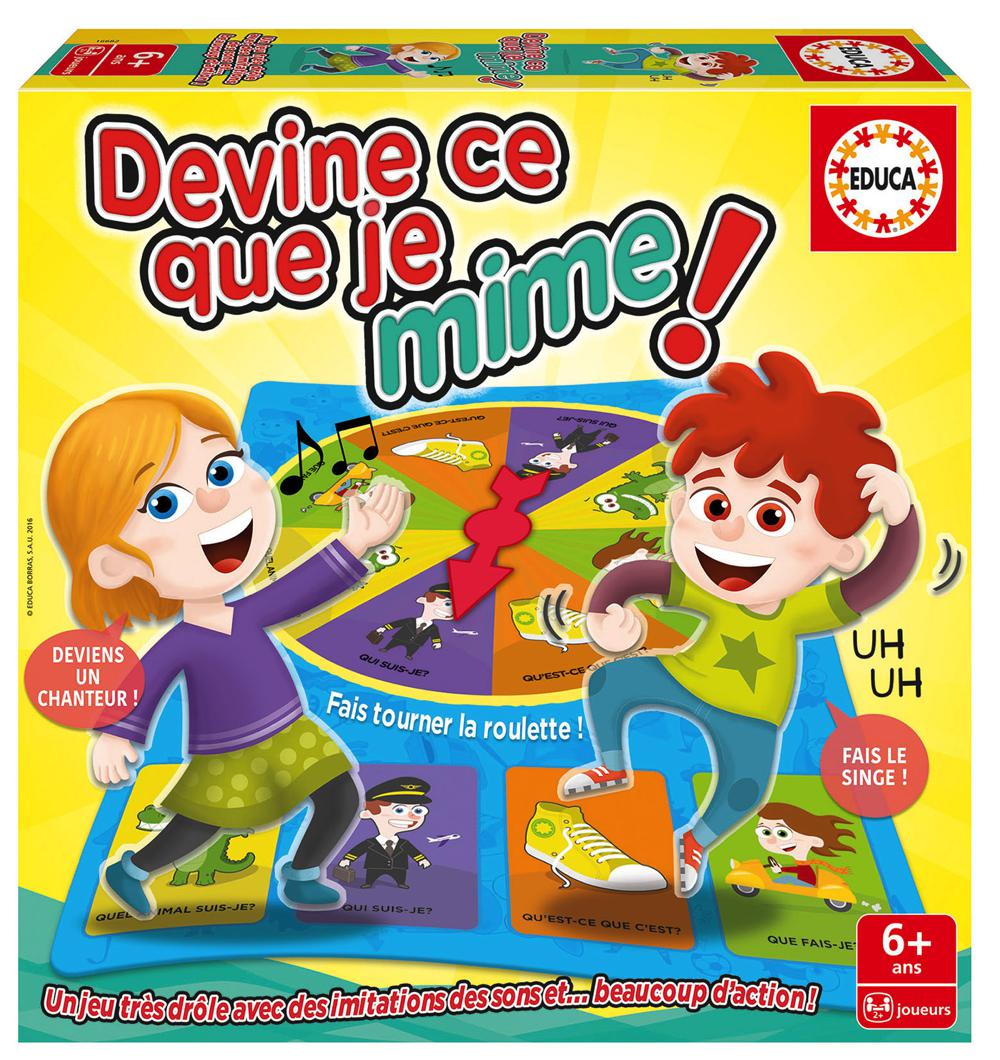 Educa - Devine ce que je mime French New Edition