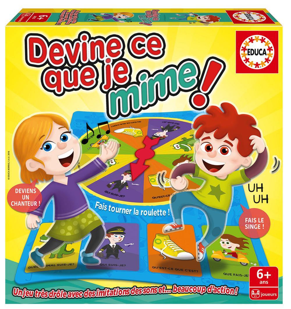 Educa - Devine ce que je mime French New Edition