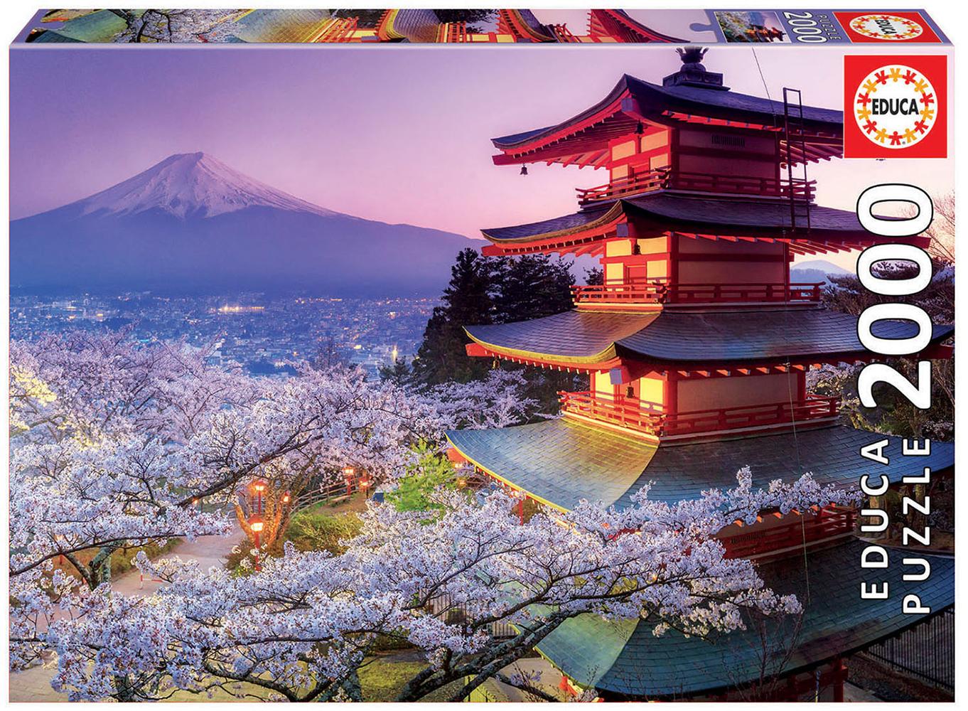 Casse-tête 2000 pièces Mont Fuji, Japon