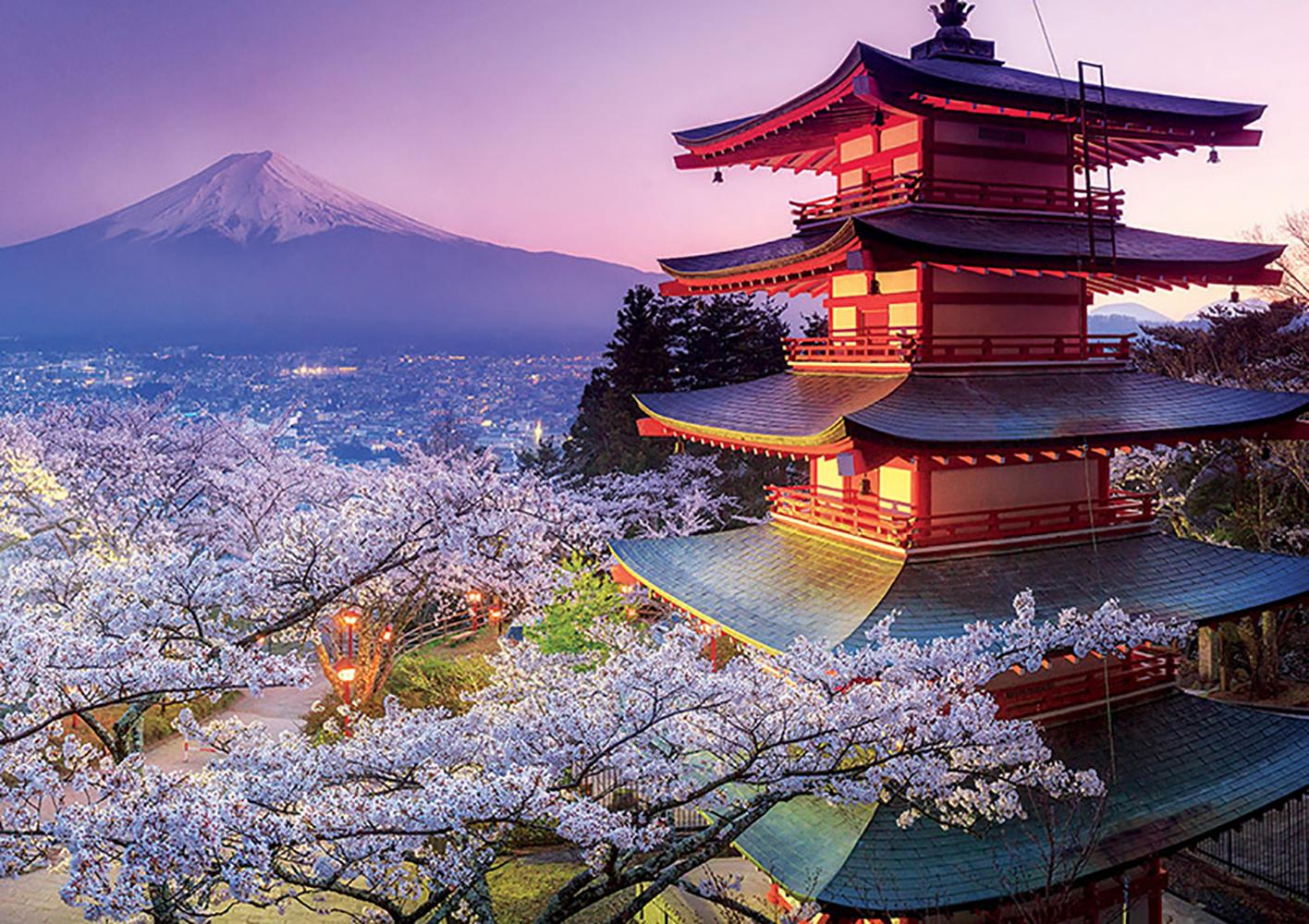 Puzzle 2000 pieces - Mount Fuji, Japan