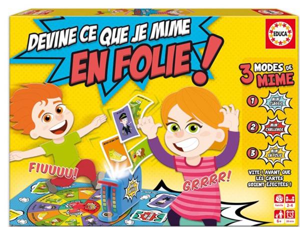Educa Devine ce que je mime en folie! French Version