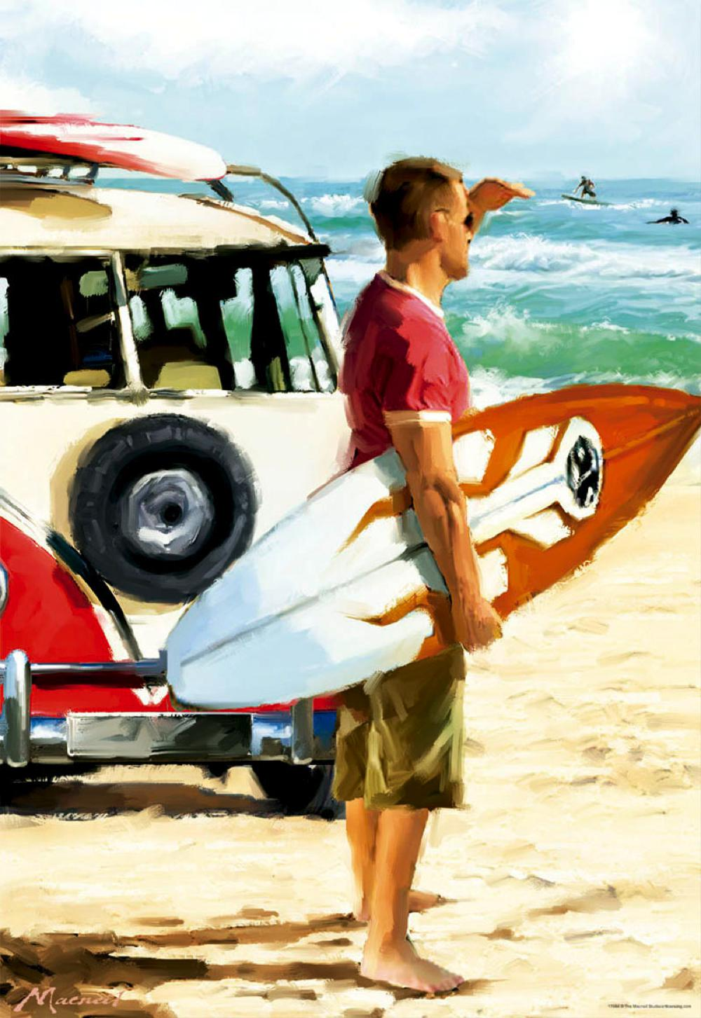Puzzle 500 Pieces - Surfer