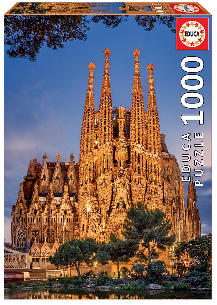 1000 pieces puzzle - Sagrada Familia