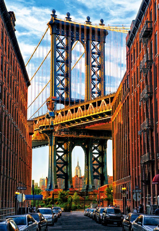 Puzzle 1000 Pieces - Manhattan Bridge