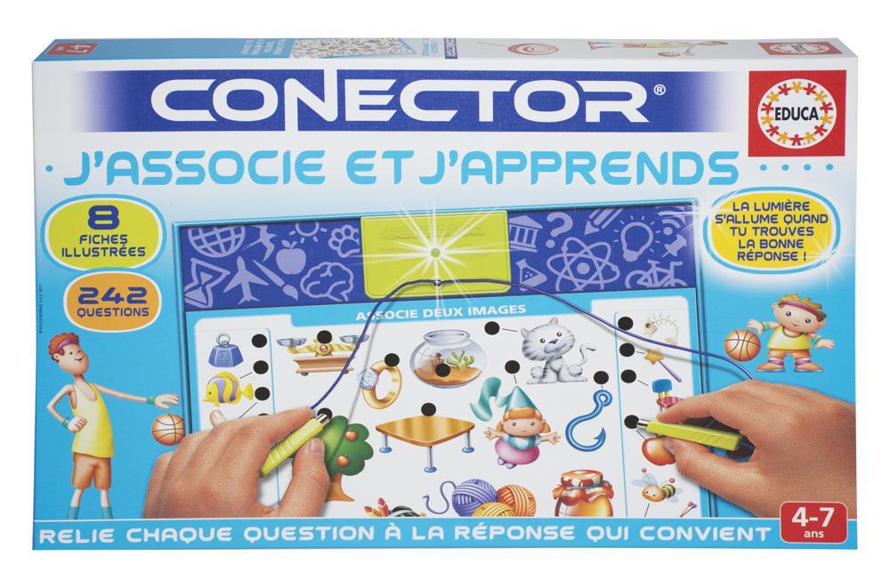 Educa - Conector J'associe et j'apprends French version