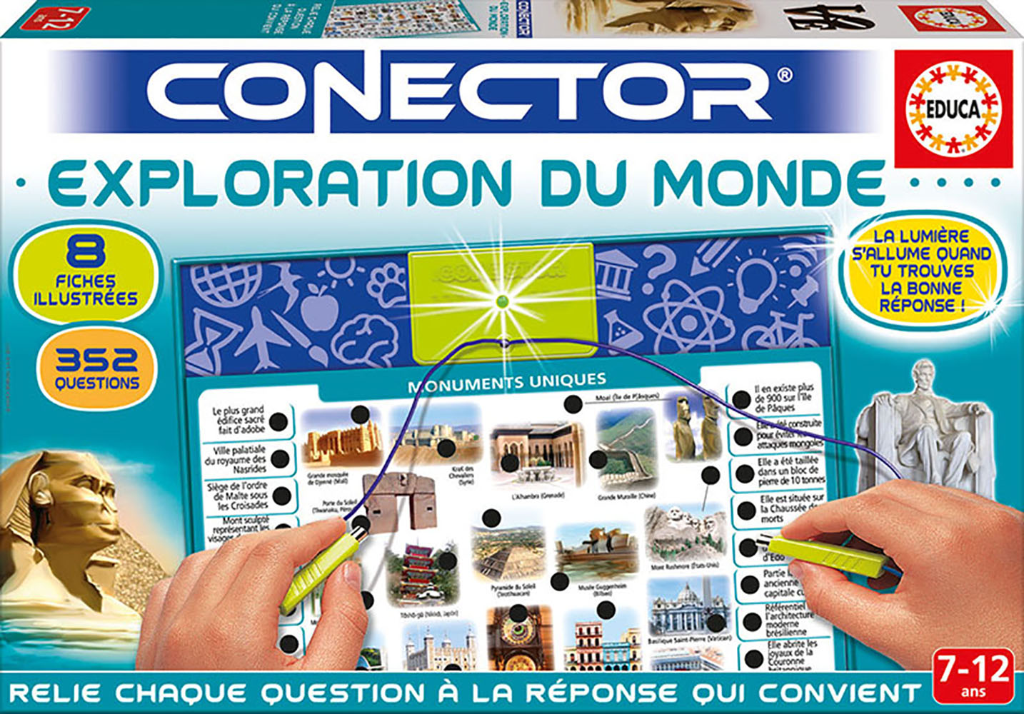 Educa - Conector Exploration du monde French version