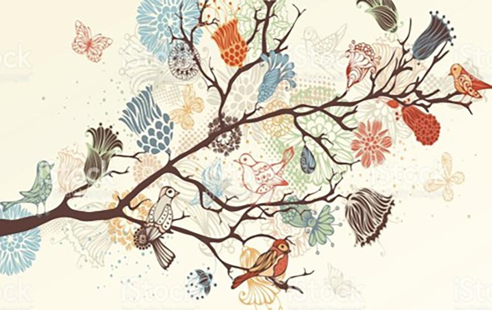 500 pieces puzzle painting birds