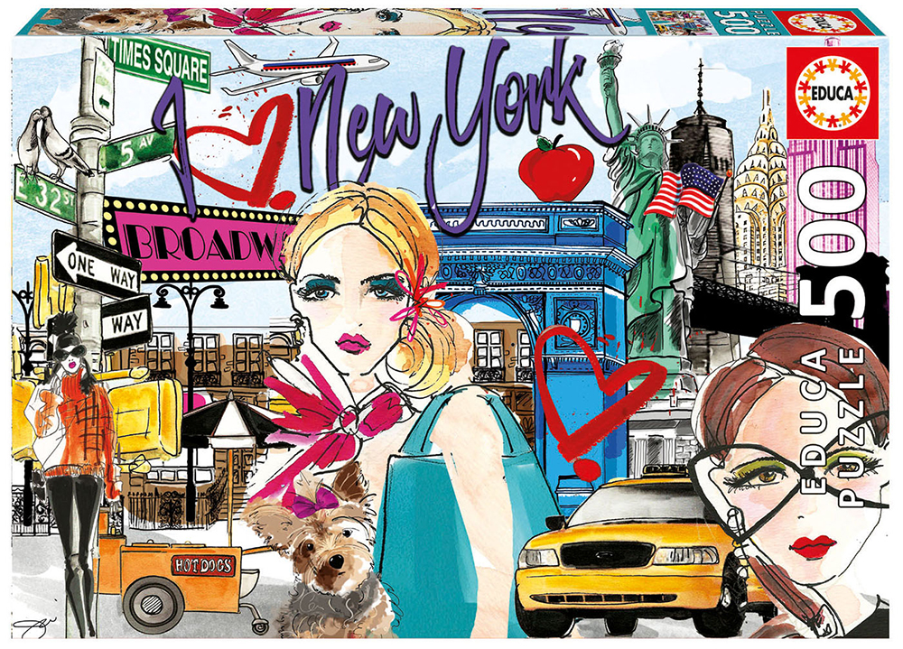 500 pieces puzzle Chic World New York