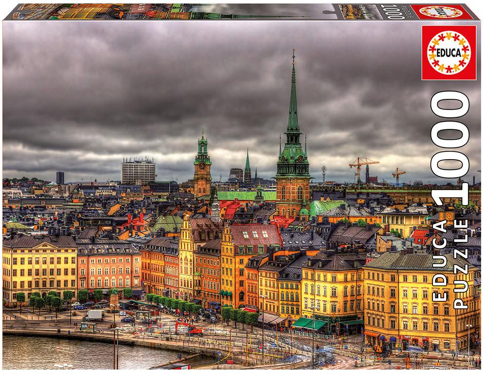 Casse-tête 1000 pièces Stockholm, Suède