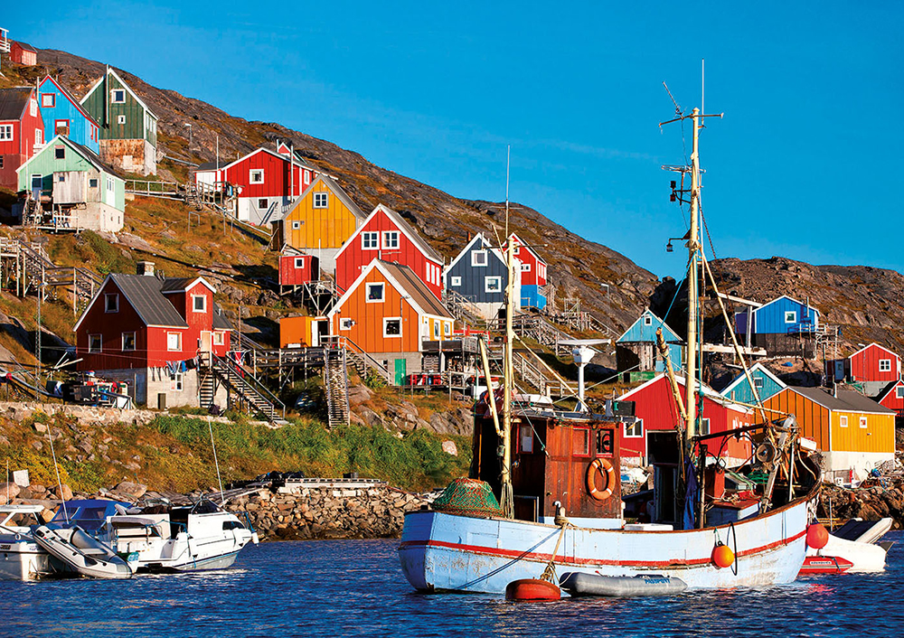 1000 pieces puzzle - Nordic Houses