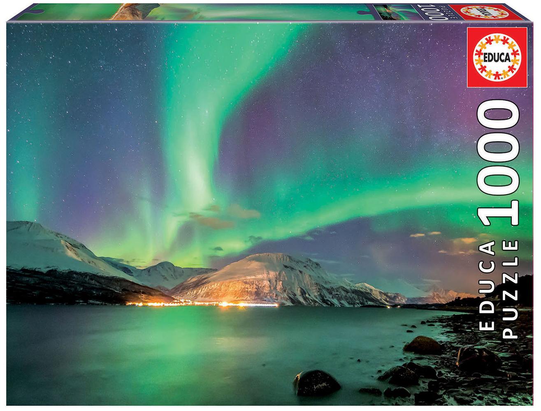 1000 pieces puzzle - Aurora Borealis