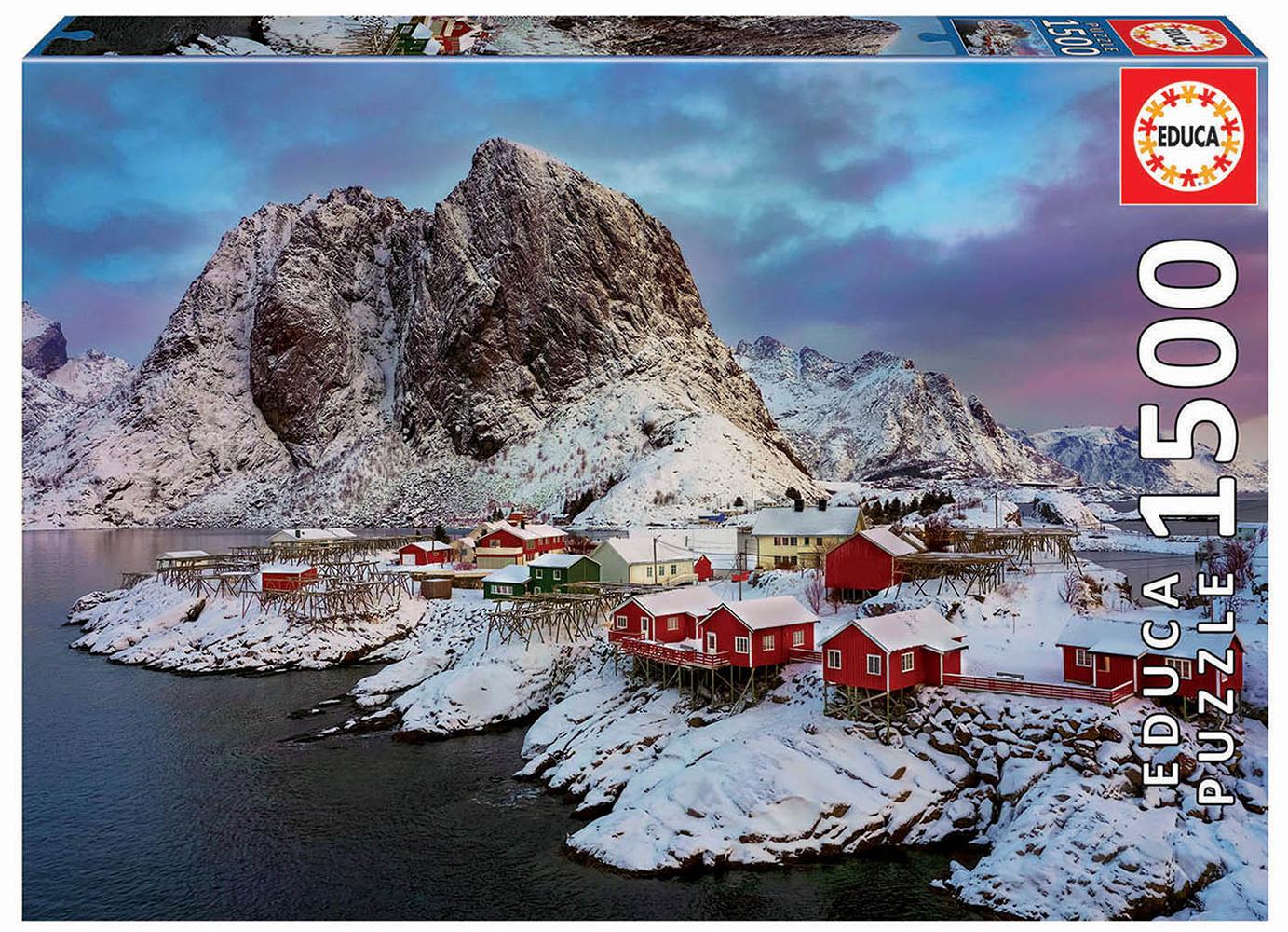 Casse-tête 1500 pièces Îles Lofoten, Norvège