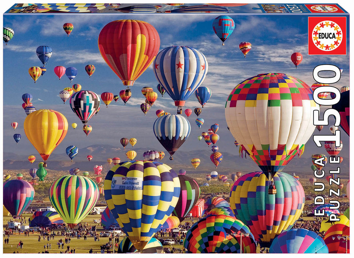 Puzzle1500 pieces - Hot Air Balloons