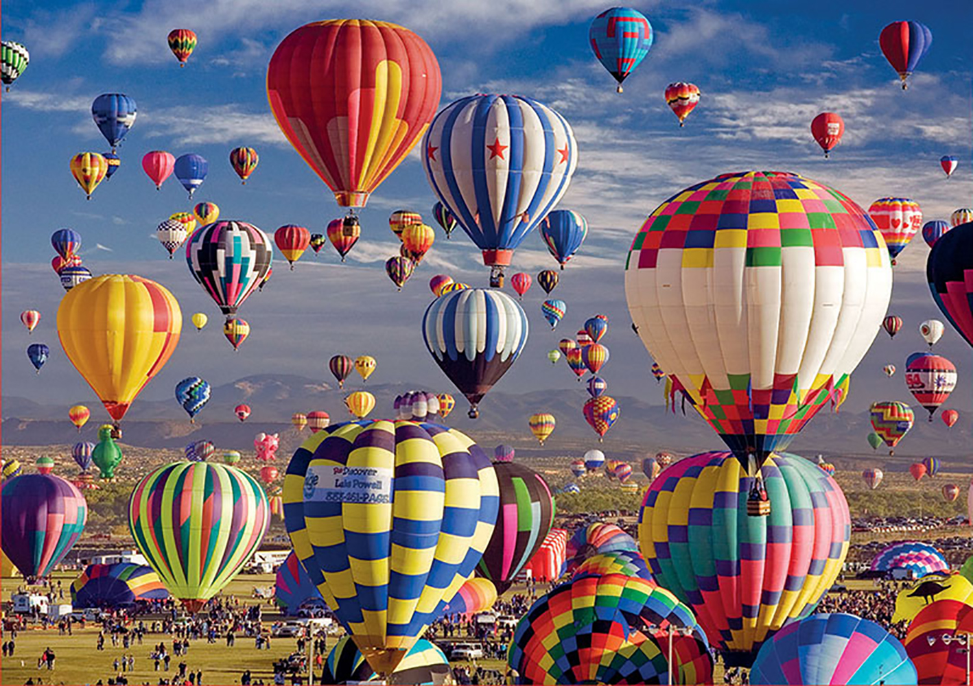 1500 pieces puzzle - Hot Air Balloons