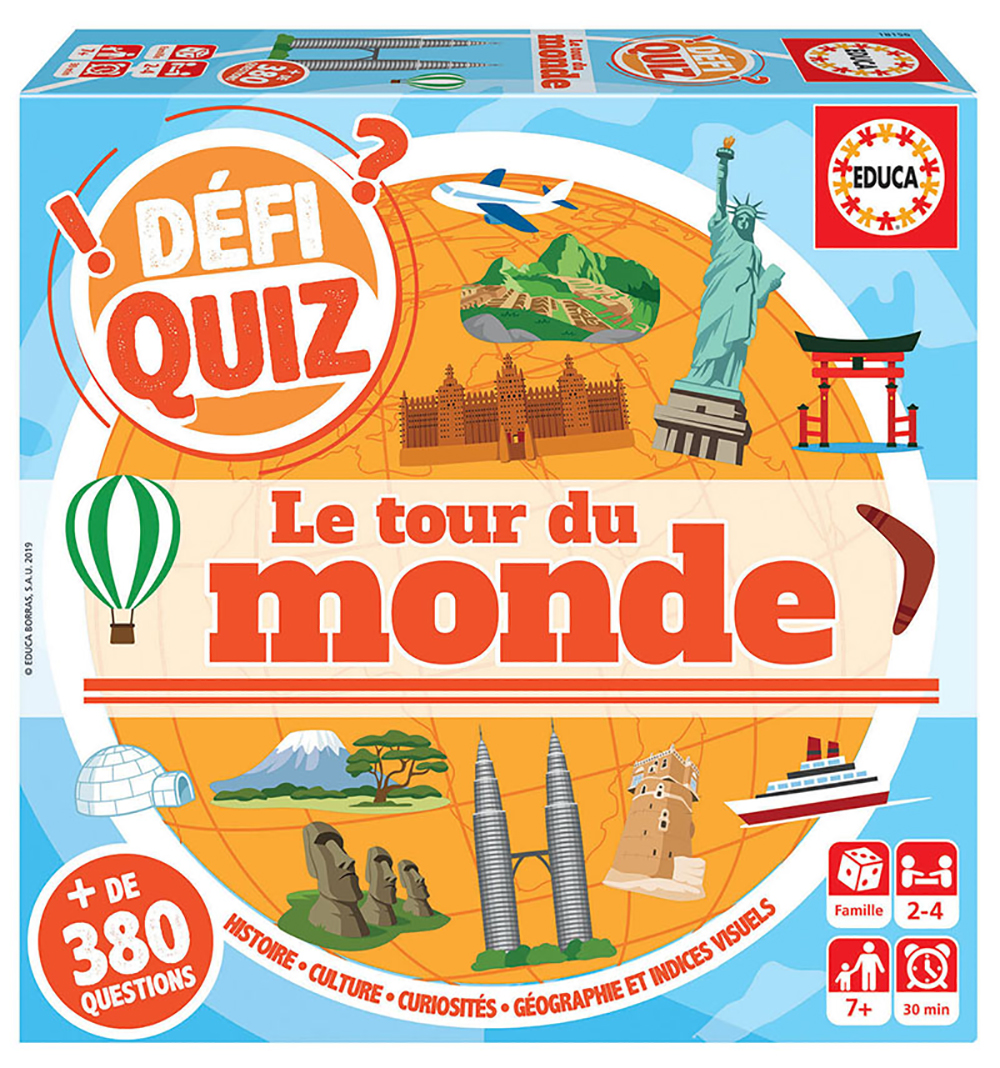 Educa - Défi Quiz - Around the World