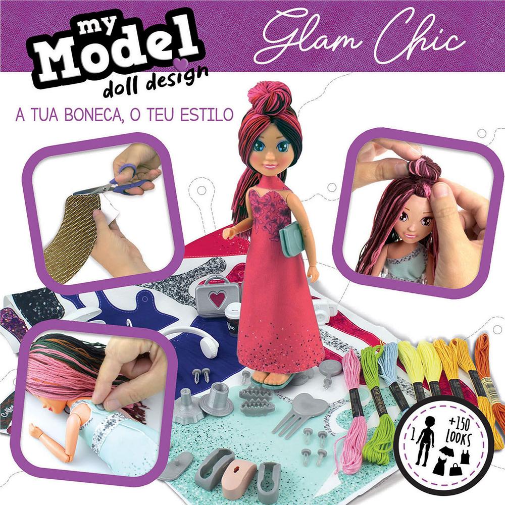 My Model Doll design - Glam Chic