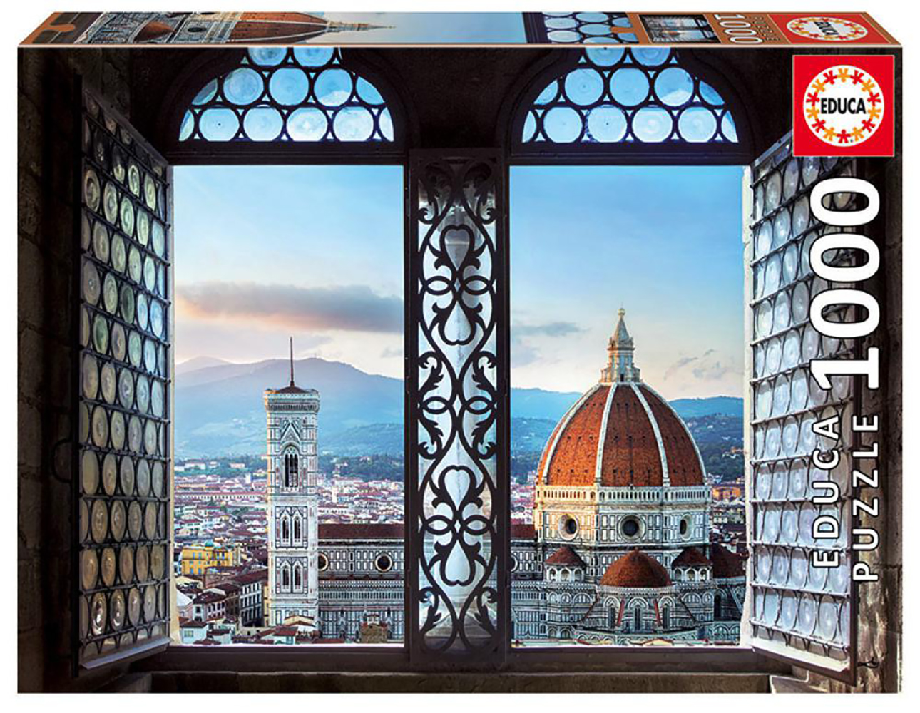 1000 pieces puzzle - Views of Florence