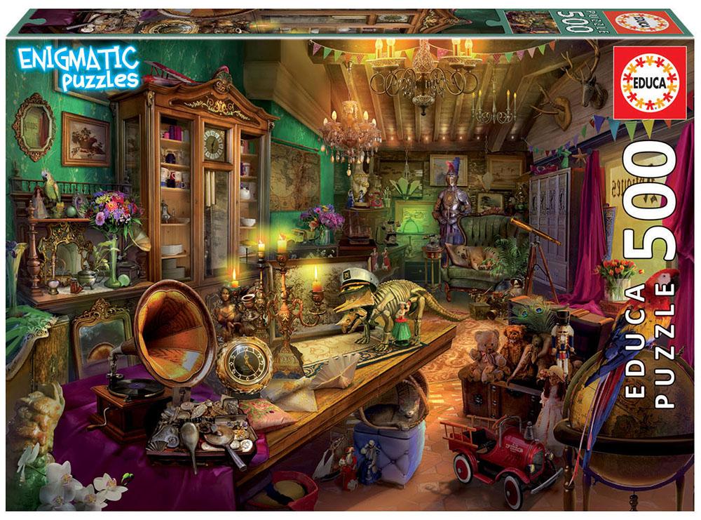 500 pieces Mysterious puzzle - Antiques Store