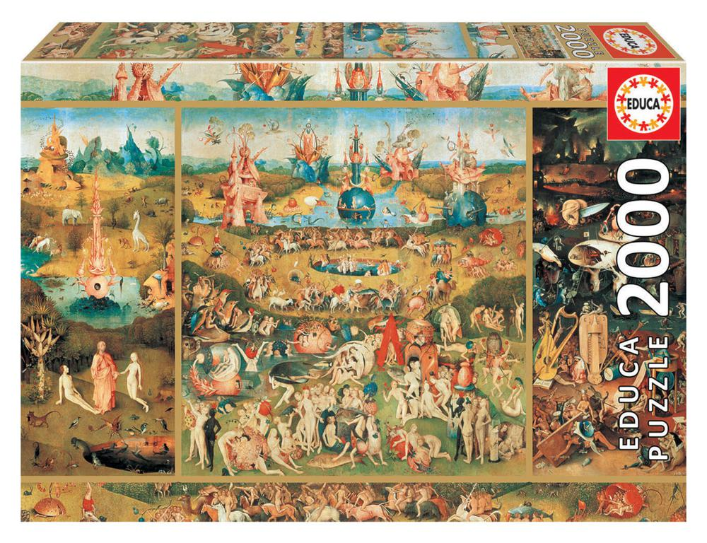 2000 pieces puzzle - Garden of Delights