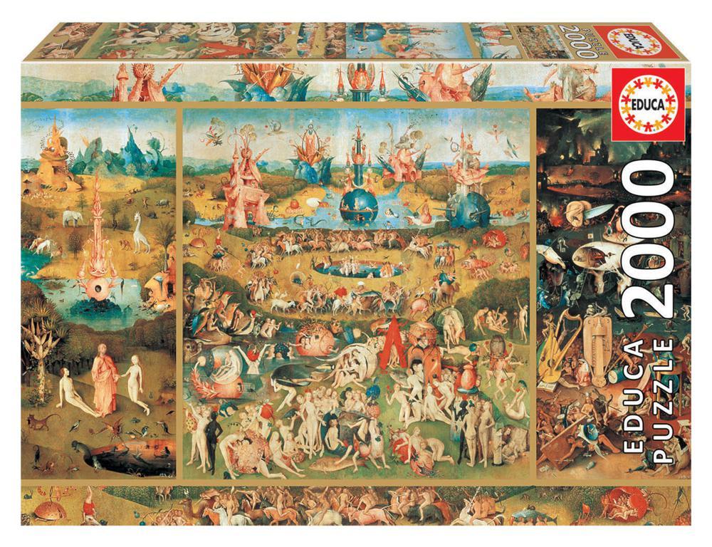 2000 pieces puzzle - Garden of Delights