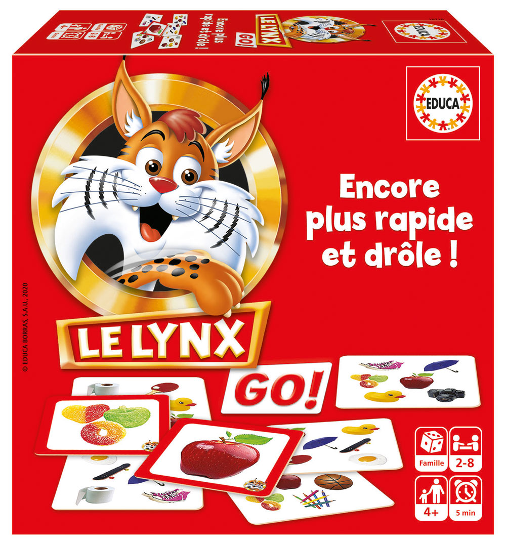Educa - Le Lynx Go! (60 cards) French version