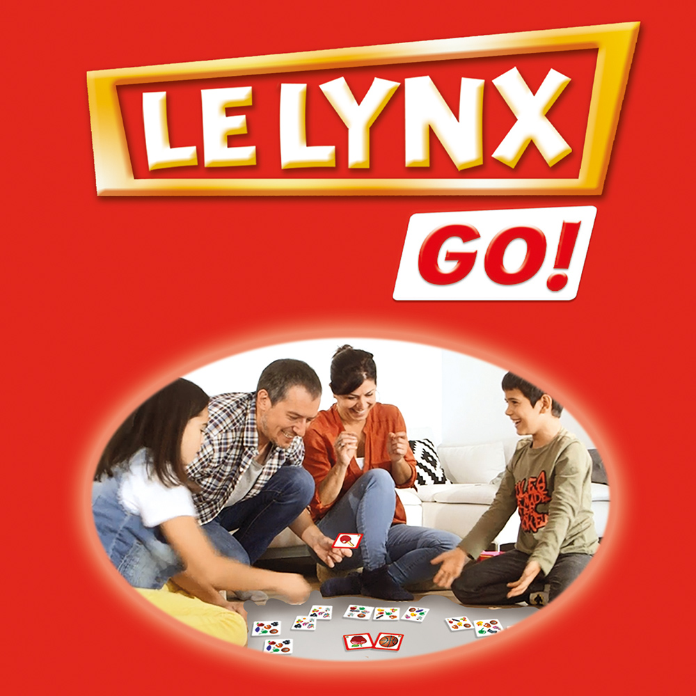 Educa - Le Lynx Go! (60 cards) French version