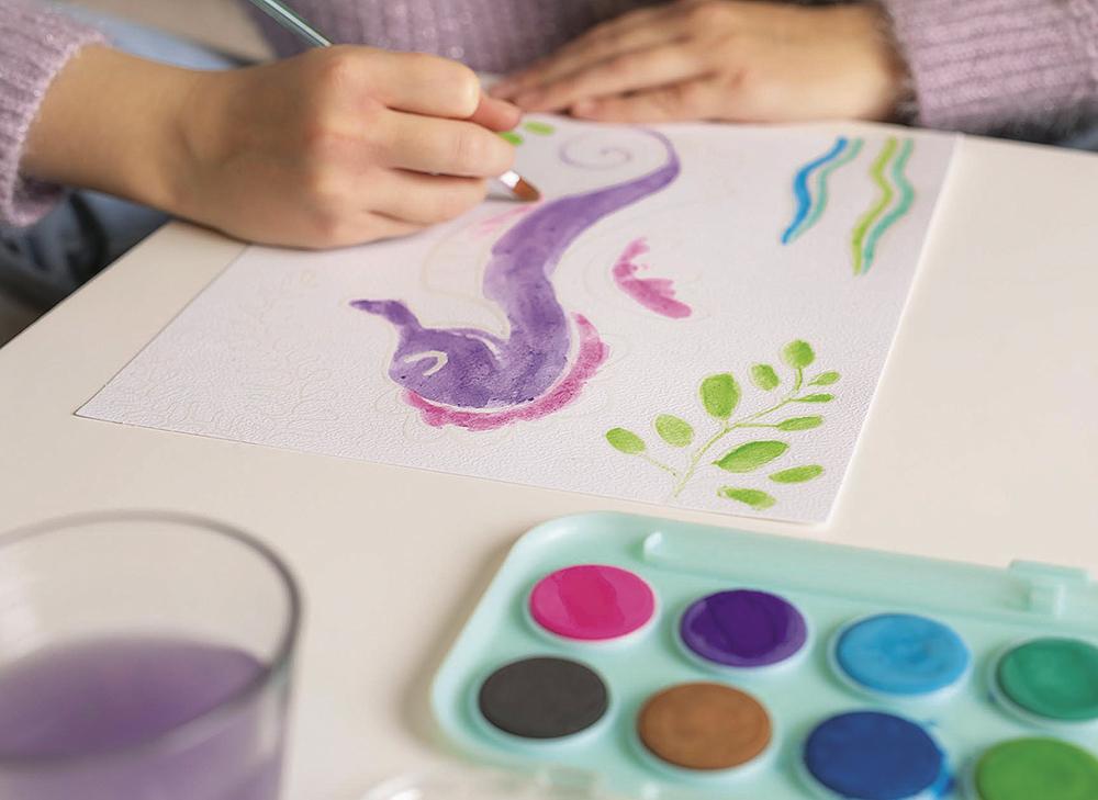 Nature Friends - Magic Watercolor