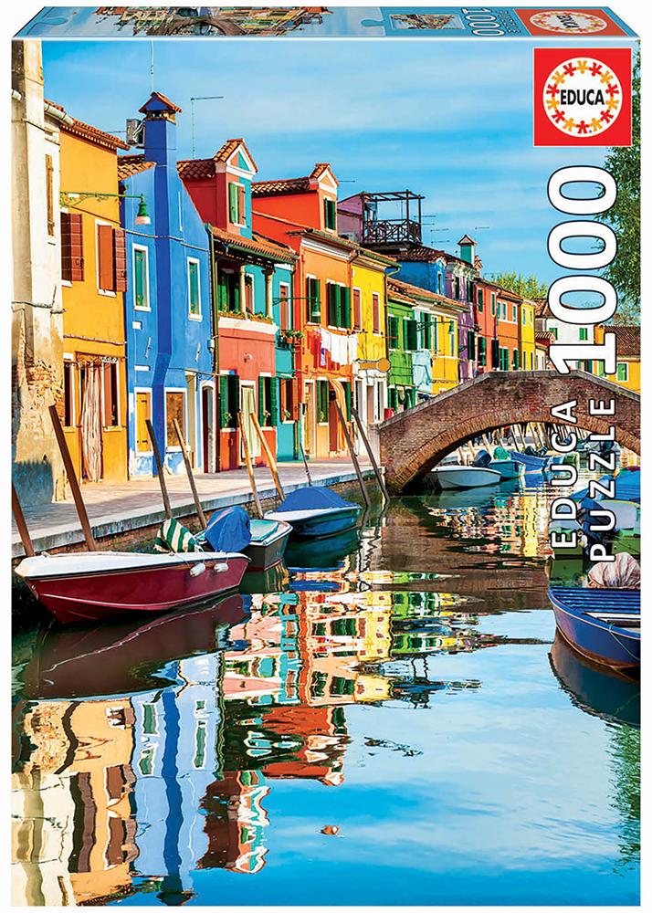 1000 pieces puzzle - Burano