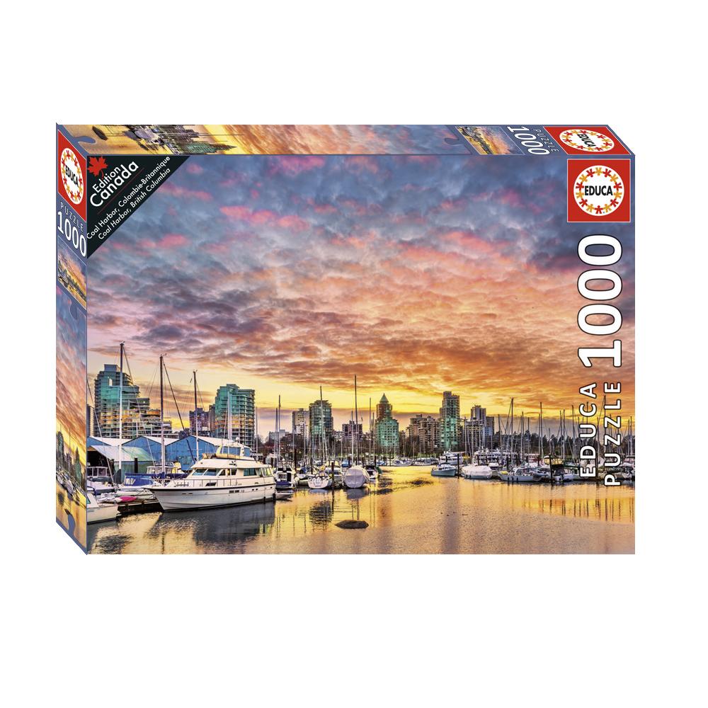1000 pieces puzzle - Coal Harbor, British Columbia