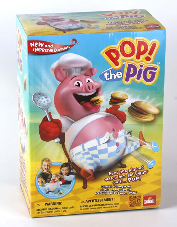Cuistot Dingo game (=Pop the Pig) Bilingual