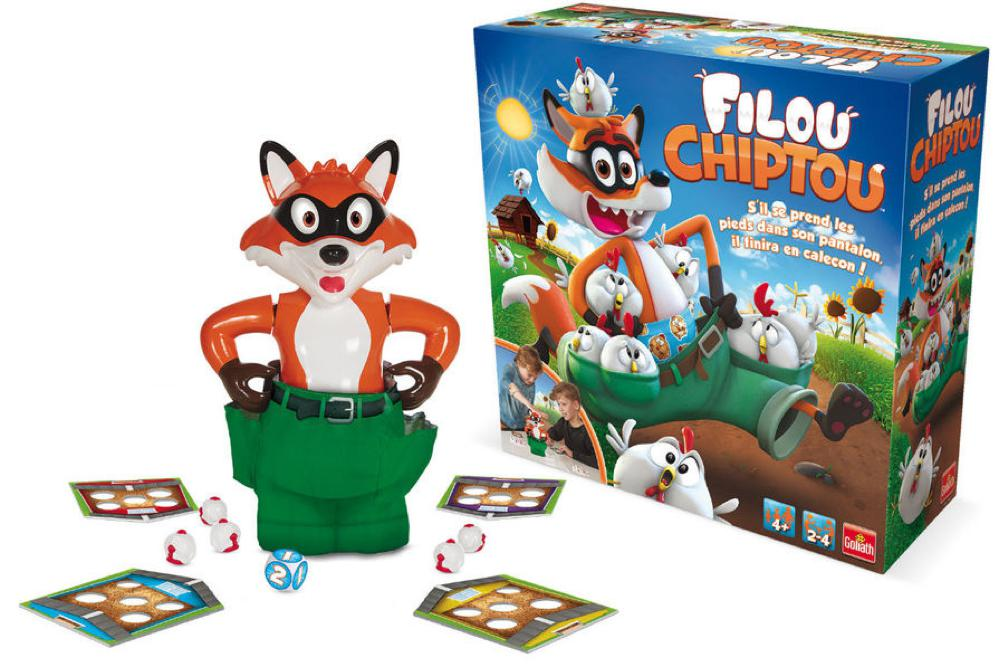 Game Filou Chiptou French version